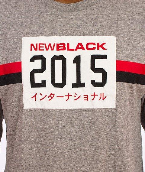 New Black-Kokusai Longsleeve Grey