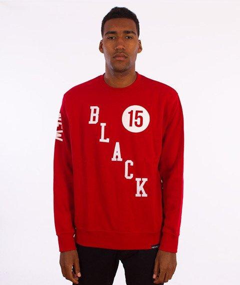 New Black-Supermoto Crewneck Red