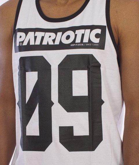 Patriotic-09 Tank-Top Biały