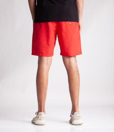 Patriotic-CLS Spodnie Krótkie Czerwone