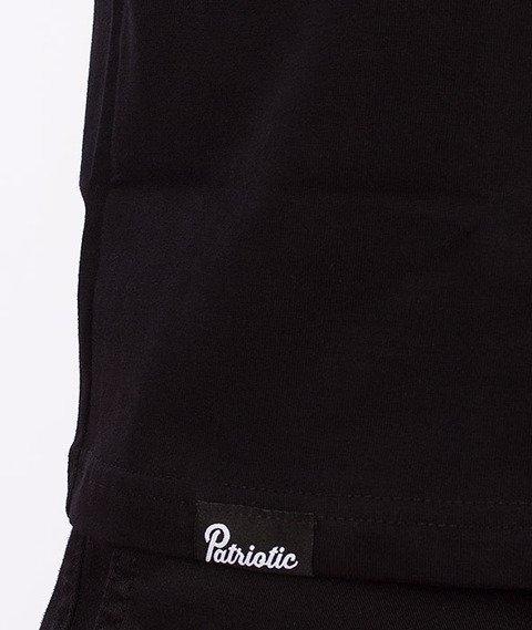 Patriotic-Fonts T-shirt Czarny