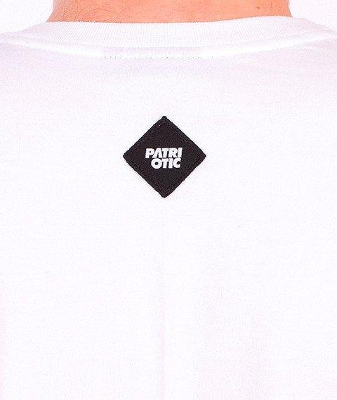 Patriotic-Patrio10 T-shirt Biały