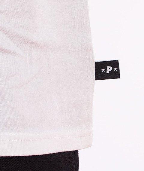 Patriotic-Pool Girl T-Shirt Biały
