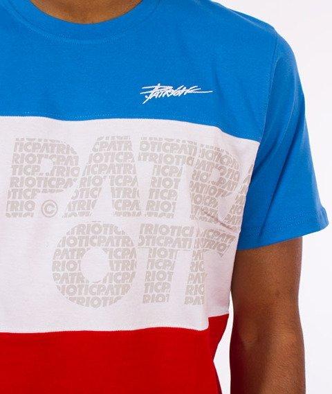 Patriotic-Trio T-shirt Niebieski/Biały/Czerwony