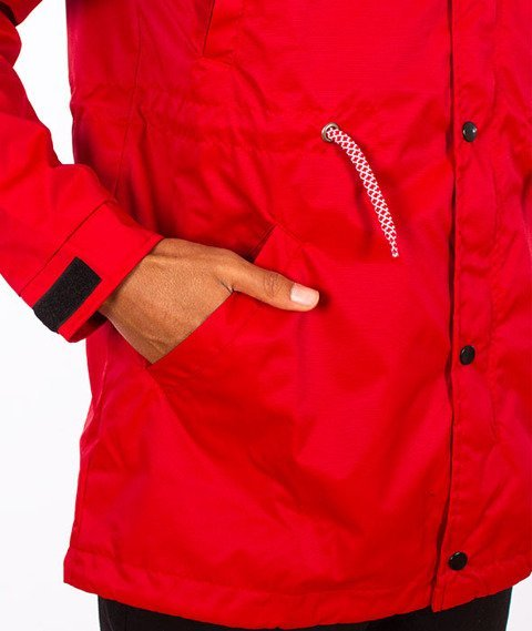 Phenotype-Teamred Fishtail Jacket Red