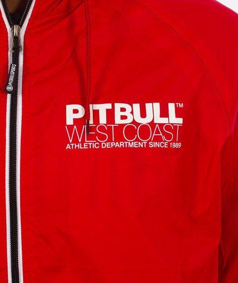 Pit Bull West Coast-Athletic IV Jacket Kurtka Czerwona
