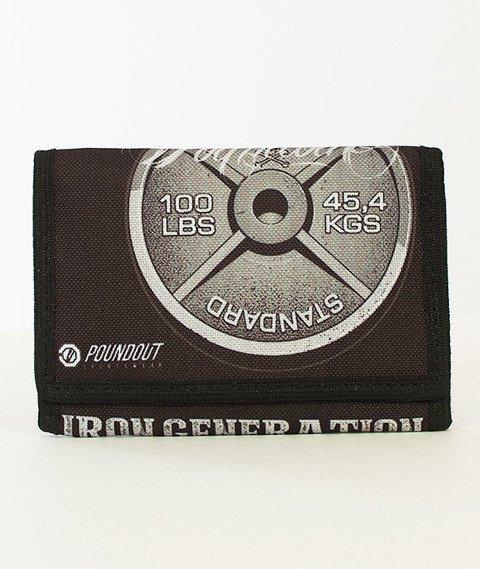 Poundout-Iron Generation Portfel Czarny