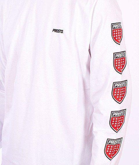 Prosto-Quadruple Longsleeve White