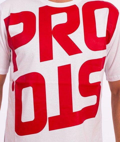 Prosto-Reversed T-Shirt Biały