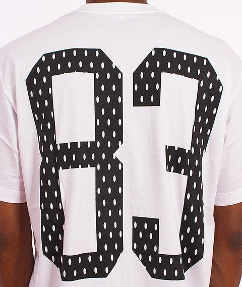 Ryzyko-Dots T-shirt Biały