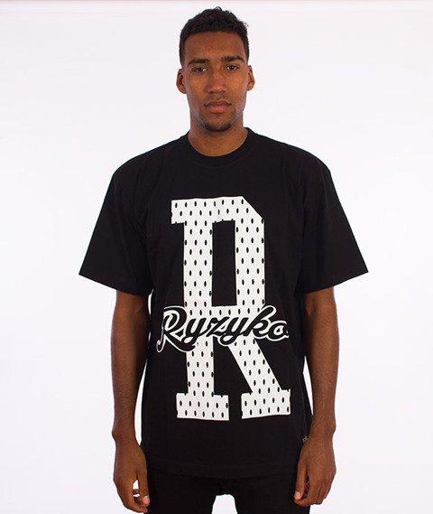 Ryzyko-Dots T-shirt Czarny