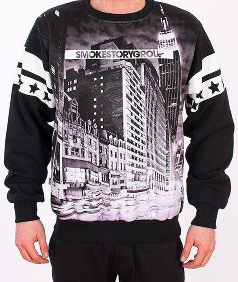SmokeStory-Black City Bluza Czarna