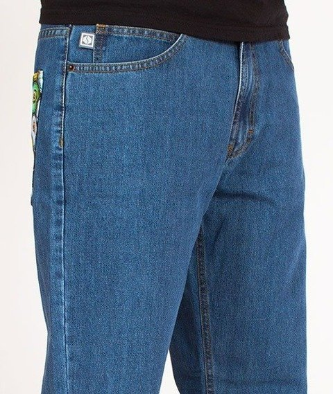 SmokeStory-Cans Regular Jeans Light Blue