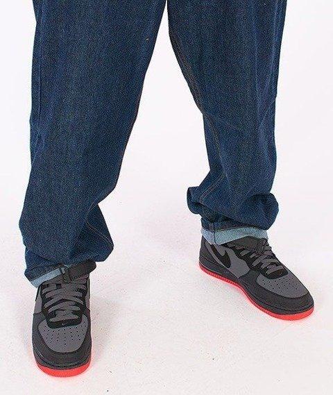 SmokeStory-Classic Baggy Jeans Dark Blue