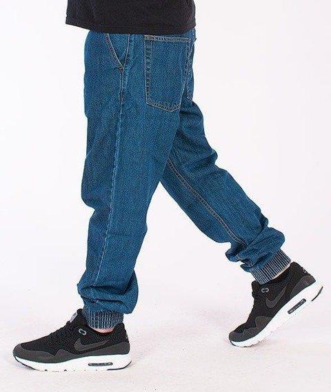 SmokeStory-Classic Jogger Jeans Medium Blue