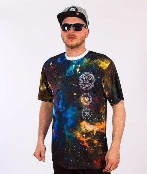 SmokeStory-Cosmos T-Shirt Biały
