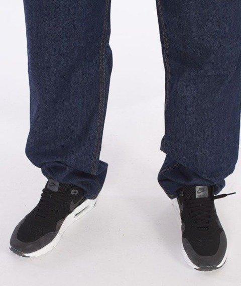 SmokeStory-Lines Regular Jeans Dark Blue