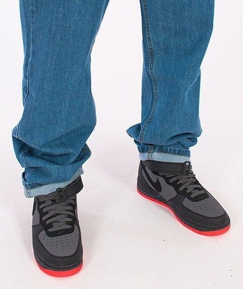 SmokeStory-New Logo Regular Jeans Light Blue