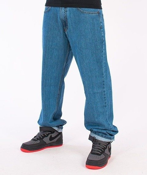 SmokeStory-Outline Regular Jeans Light Blue