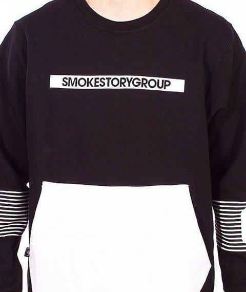 SmokeStory-Pocket Star Bluza Czarna
