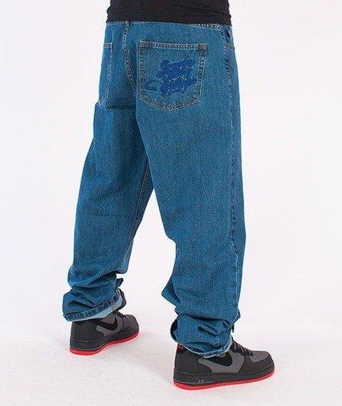 SmokeStory-Smoke Baggy Jeans Light Blue