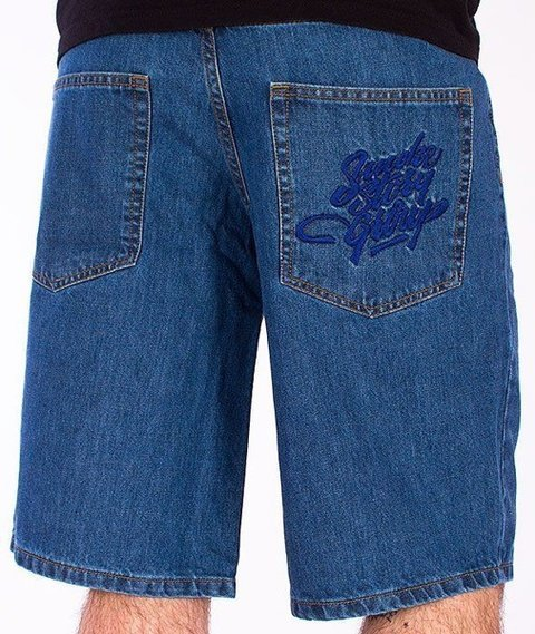 SmokeStory-Smoke Tag Krótkie Spodnie Light Blue