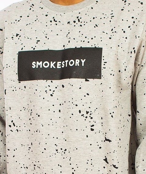 SmokeStory-Splash Bluza Szara