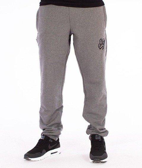 SmokeStory-Tag SSG Slim Spodnie Dresowe Grafitowe