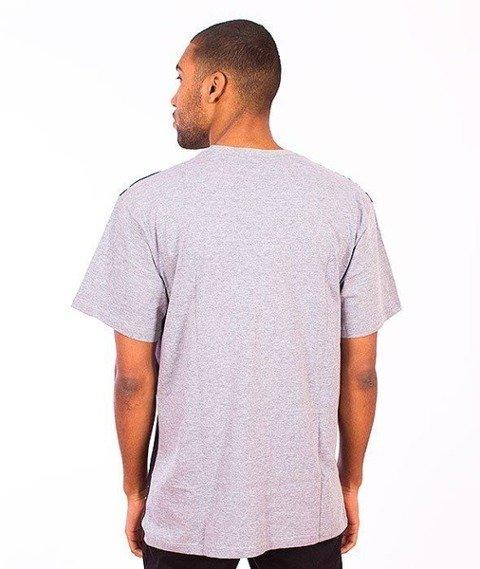 SmokeStory-Vinyl T-Shirt Szary