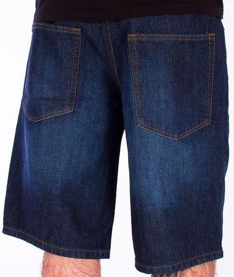 SmokeStory-Wycierane Krótkie Spodnie Dark Blue