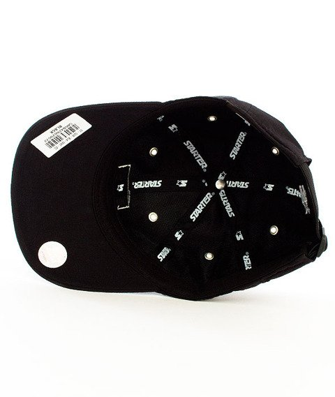 Starter-Low Key Pitcher Snapback Black