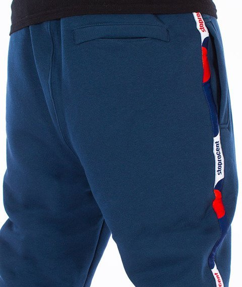 Stoprocent-Athletic Spodnie Dresowe Navy Blue