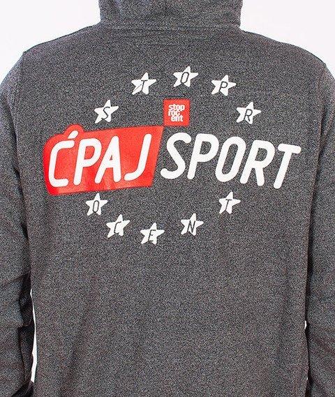 Stoprocent-BMS Ćpaj Sport Bluza Zip Pepper Grey