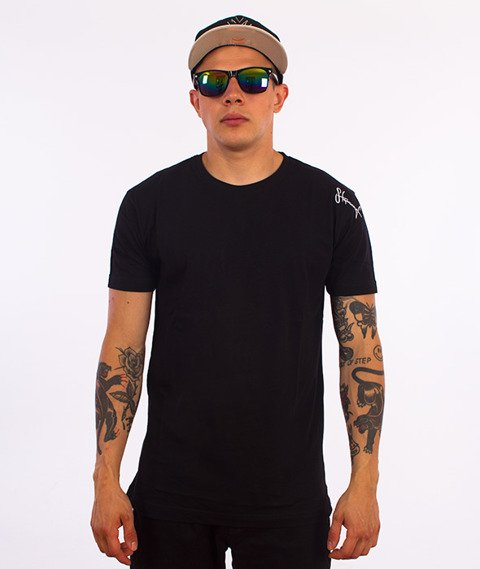 Stoprocent-Base T-Shirt Czarny