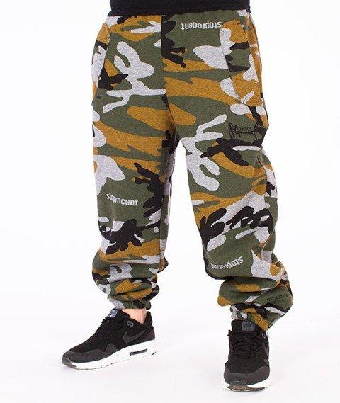Stoprocent-Camo Spodnie Dresowe Camo