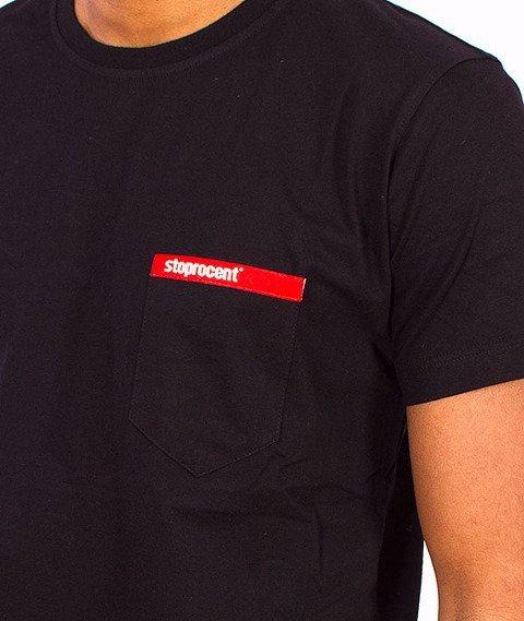 Stoprocent-Pocket T-Shirt Black