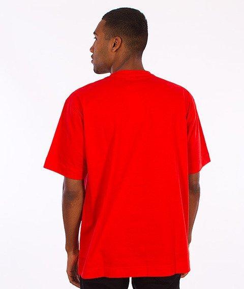 Stoprocent-Printag16 T-Shirt Czerwony
