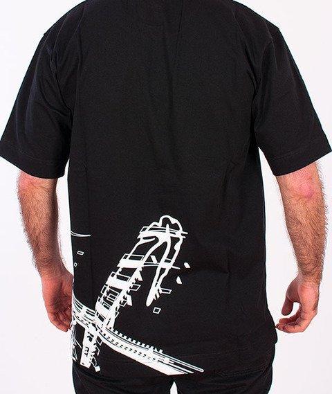 Stoprocent-Seultag T-shirt Czarny