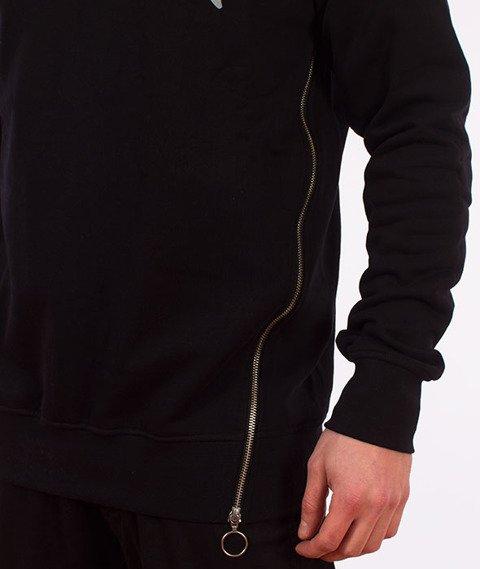 Stoprocent-Sideziptag Bluza Czarna