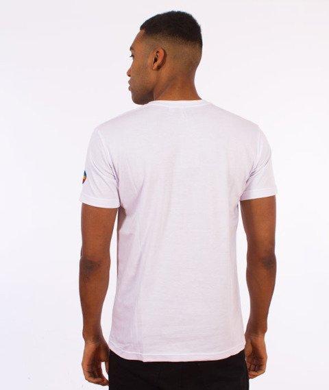 Stoprocent-Stripetag T-Shirt Biały