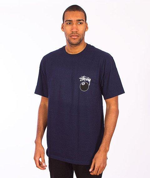 Stussy-8 Ball T-Shirt Navy