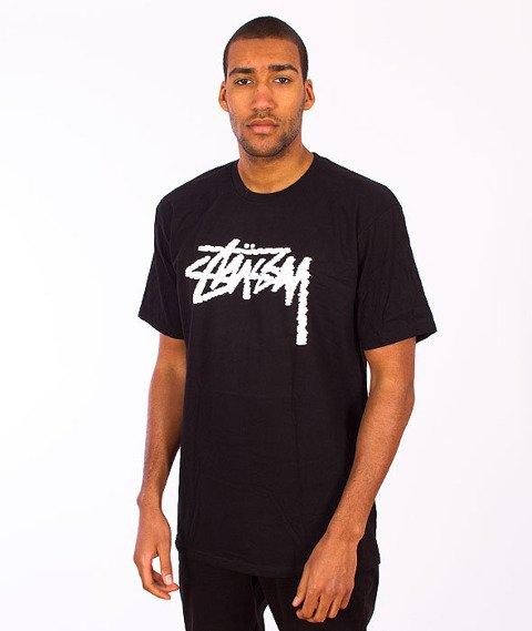 Stussy-Label Stock Tee Black