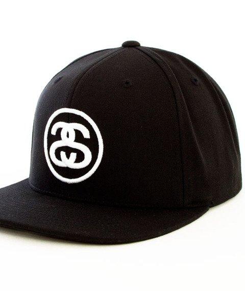 Stussy-SS Link SP16 Snapback Black
