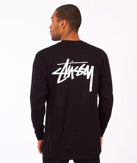 Stussy-Stock Longsleeve Black