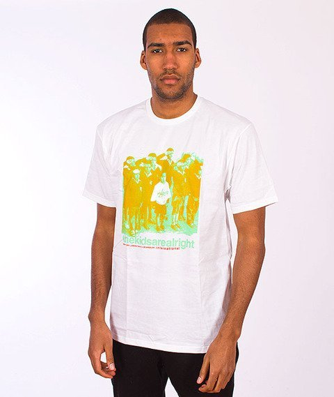 Stussy-The Kids Are Alright Tee White
