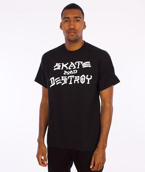 Thrasher-Skate And Destroy T-Shirt Black