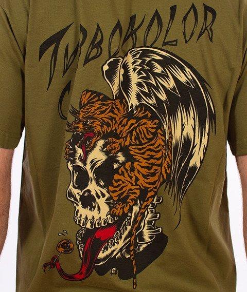 Turbokolor-Flying T-Shirt Khaki