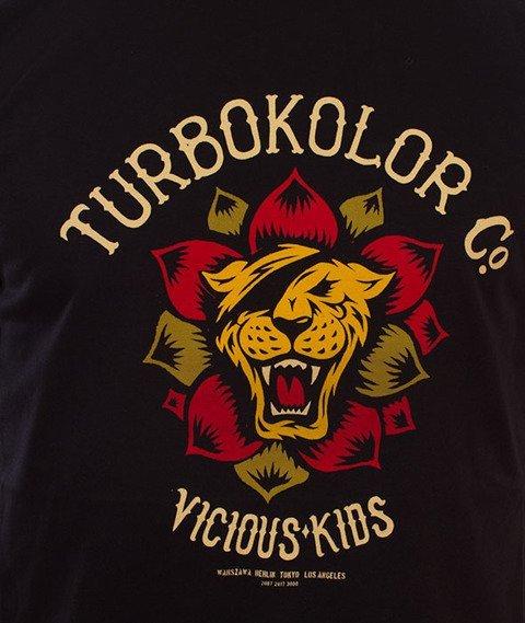 Turbokolor-Lotos Front T-Shirt Czarny