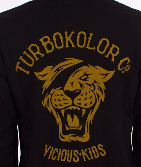Turbokolor- Moder OG Tiger Hoody Bluza Kaptur Czarna