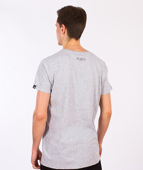 Two Angle-Yeazy T-Shirt Mixed Grey